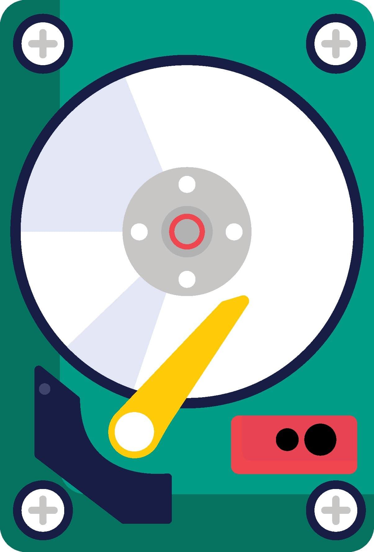 قطعات داخلی هارد دیسک